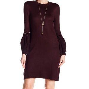 Eliza J bell sleeve sweater dress XS